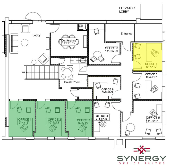 synergy 2nd floor available spaces 1 1 17new